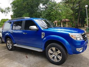 Sell Blue 2010 Ford Everest Manual Diesel