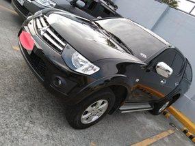 Sell Black 2012 Mitsubishi Strada at 47000 km in Malabon