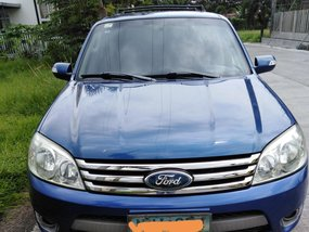 Blue 2009 Ford Escape for sale in Metro Manila