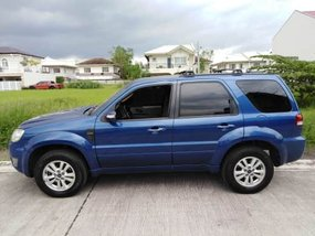 Selling Blue Ford Escape 2009 Automatic in Metro Manila