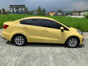 Sell 2nd Hand 2016 Kia Rio at 24000 km in Quezon City