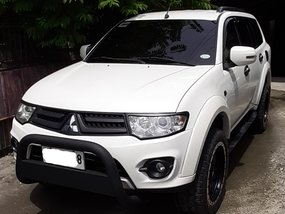 Selling 2nd Hand Mitsubishi Montero Sport 2014 Manual Diesel