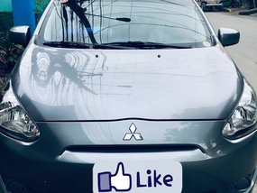 Used 2015 Mitsubishi Mirage Hatchback for sale in Quezon City