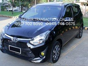 Black Toyota Wigo 2018 at 25000 km for sale