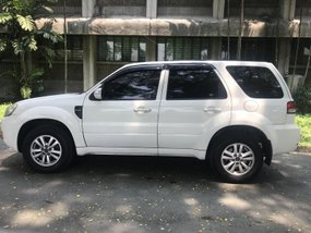 White 2010 Ford Escape Automatic for sale in Quezon City