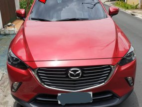 Red 2017 Mazda Cx-3 for sale in Quezon City