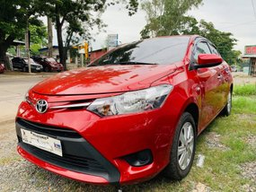 Sell Red 2017 Toyota Vios Sedan Manual at 20000 km