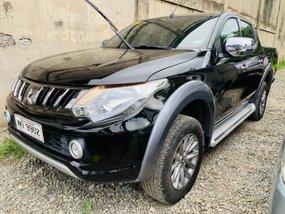 Black 2016 Mitsubishi Strada Manual Diesel for sale