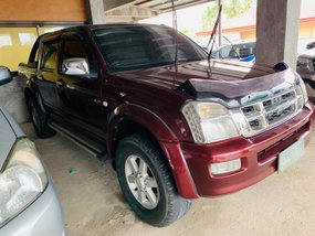 Red 2005 Isuzu D-Max Automatic Diesel for sale in Isabela