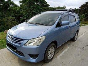 Sell Blue 2013 Toyota Innova Manual Diesel at 145000 km