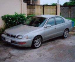 Silver Toyota Corona 1997 for sale in Makati