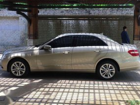 2010 Mercedes-Benz E-Class for sale in Quezon City