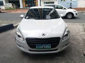 White Peugeot 508 2013 for sale in Pasig