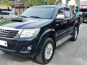 Sell Black 2015 Toyota Hilux in Meycauayan
