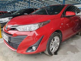Red Toyota Vios 2018 at 18000 km for sale