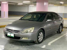 Sell Grey 2005 Honda Accord Automatic Gasoline at 93000 km