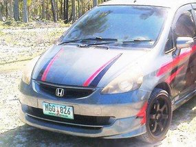Grey Honda Fit 2014 at 56000 km for sale