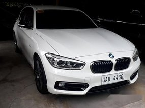 White Bmw 118I 2017 for sale in Pasig