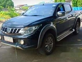 Black Mitsubishi Strada 2017 Automatic Diesel for sale