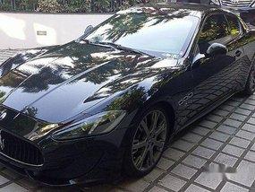 Black Maserati Granturismo 2014 at 18000 km for sale
