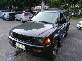 Green Mitsubishi Montero Sport 1997 at 90000 km for sale