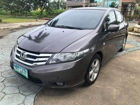 Grey Honda City 2012 Automatic Gasoline for sale