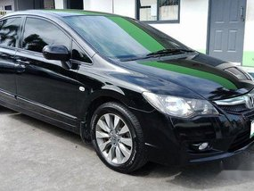 Sell Black 2011 Honda Civic at 77000 km