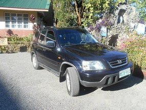 Black Honda Cr-V 2002 Automatic Gasoline for sale