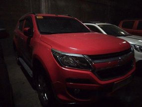 Selling Red Chevrolet Trailblazer 2017 Automatic Diesel