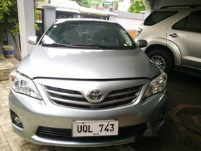 Selling Silver Toyota Corolla Altis 2012 at 64000 km