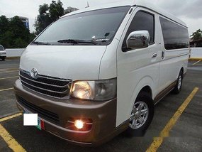 Sell White 2011 Toyota Hiace in Quezon City