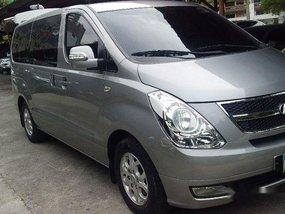 Silver Hyundai Grand Starex 2012 Automatic Diesel for sale