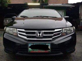 Black Honda City 2012 Manual Gasoline for sale