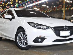 White 2015 Mazda 3 Automatic for sale in Quezon City