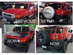 Red 2017 Toyota Fj Cruiser for sale in Metro Manila