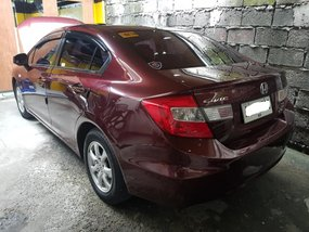 Selling Red 2015 Honda Civic 1.8 in Makati