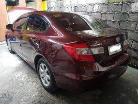 Selling Red 2015 Honda Civic 1.8 in Makati