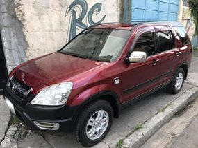 Red 2003 Honda CRV Automatic Transmission for sale in Makati
