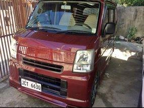 Selling Red Suzuki Multi-Cab 2015 Van in Cebu