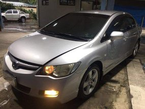Sell Silver 2008 Honda Civic in Quezon City
