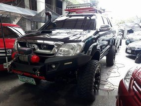 Selling Black Toyota Hilux 2009 at 78448 km