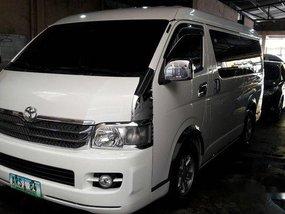 Sell White 2010 Toyota Hiace in Makati