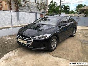 Selling Black Hyundai Elantra 2018 at 3600 km in Cavite