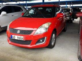 Red 2016 Suzuki Swift Hatchback for sale in Quezon City