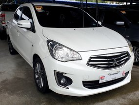 Sell White 2018 Mitsubishi Mirage G4 at 21000 km in Quezon City