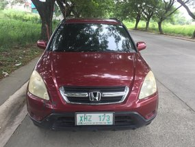 Red Honda Cr-V 2003 for sale in Cavite