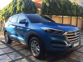 Blue 2017 Hyundai Tucson at 11000 km for sale in Cebu City