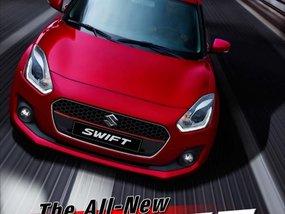 Red 2019 Suzuki Swift Hatchback for sale