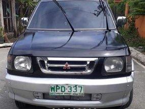 Selling Black Mitsubishi Adventure 2000 Automatic Gasoline in Rizal