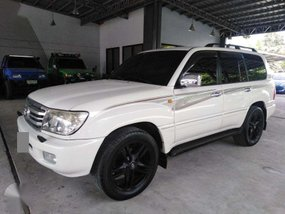 White 1998 Toyota Land Cruiser for sale in Manila